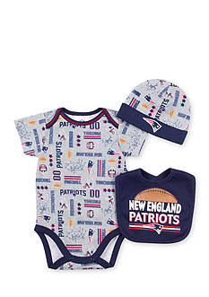 NFL New England Patriots Bodysuit Set