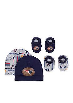 NFL New England Patriots 2 Cap and Bootie Sets