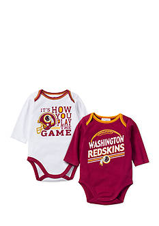 NFL Washington Redskins 2-Pack Long Sleeve Bodysuits Set