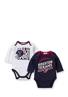 NFL Houston Texans 2-Pack Long Sleeve Bodysuits Set
