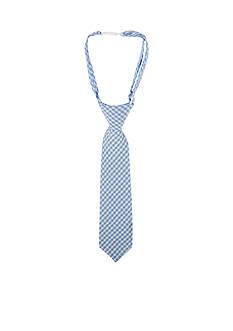 Beetle & Thread™ Blue Puckered Check Neck Tie