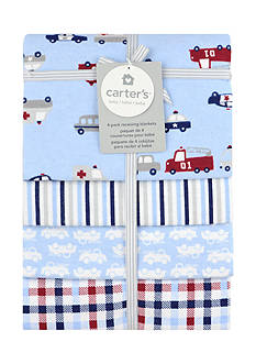 Carter's 4 pack Flannel Receiving Blanket