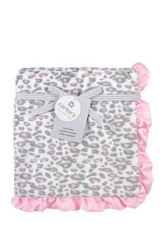 Carter's Plush Cheeta Print Blanket