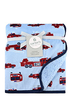 Carter's Microplush Firetruck Blanket