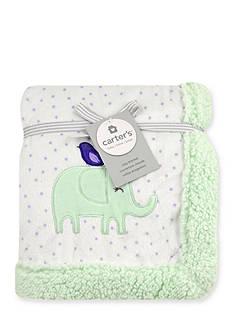 Carter's Plush Elephant Blanket