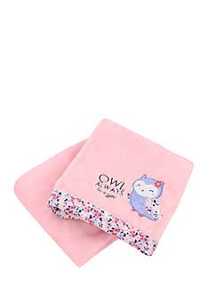 Carter's Plush Owl Blanket