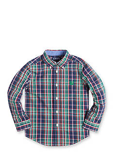 Chaps Boy 4-7 Long Sleeve Easy Care Button Down Shirt