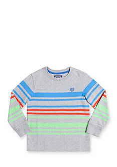 Chaps Boys 4-7 Long Sleeve Striped Tee Toddler Boys