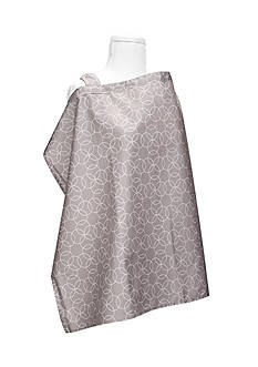 Trend Lab Circles Gray Nursing Cover