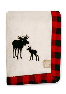 Trend Lab Northwoods Moose Receiving Blanket