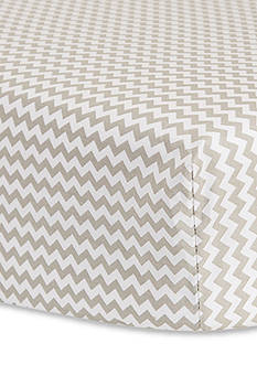 Trend Lab Dove Gray Chevron Crib Sheet