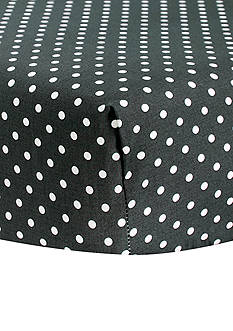 Trend Lab Bedtime Gray Dot Crib Sheet