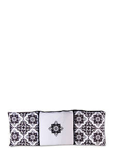 Trend Lab Versailles Black and White Crib Bumpers