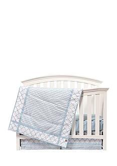 Trend Lab Blue Sky 3 Piece Crib Bedding Set