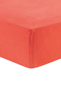 Trend Lab Coral Deluxe Flannel Fitted Crib Sheet