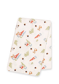 Trend Lab Forest Gnomes Deluxe Flannel Swaddle Blanket