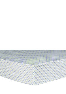 Trend Lab Forest Tales Plaid Fitted Crib Sheet