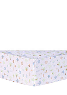 Trend Lab Forest Tales Animals Fitted Crib Sheet