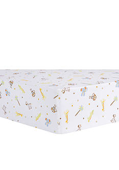Trend Lab Jungle Fun Animal Fitted Crib Sheet