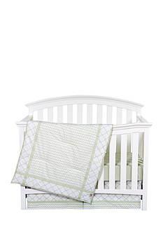 Trend Lab Sea Foam Three-Piece Crib Bedding Set