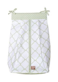 Trend Lab Sea Foam Diaper Stacker