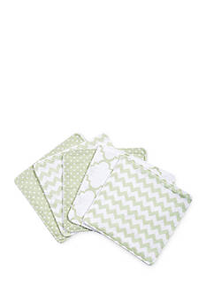 Trend Lab Sea Foam Five-Pack Wash Cloth Set