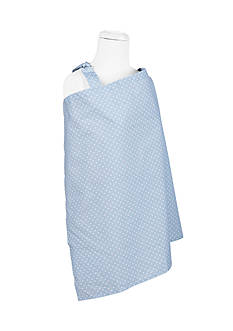 Trend Lab Blue Sky Dot Nursing Cover