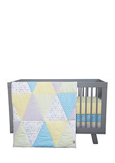 Trend Lab Triangles 3 Piece Crib Bedding Set