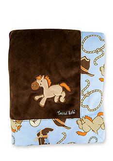 Trend Lab Cowboy Baby Receiving Blanket