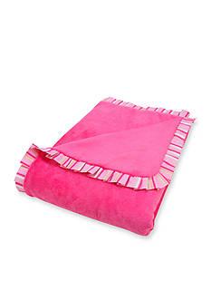 Trend Lab Savannah Ruffled Receiving Blanket