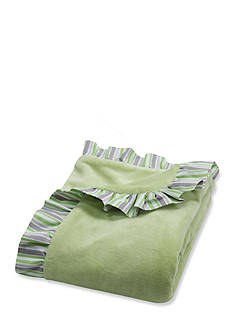 Trend Lab Ruffle Trimmed Lauren Receiving Blanket