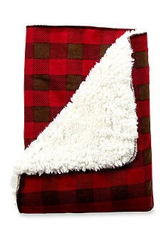 Trend Lab Northwoods Plush Receiving Blanket - Online Only