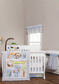 Trend Lab Jungle Fun 6 Piece Crib Bedding Set