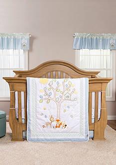Trend Lab Forest Tales Six-Piece Crib Bedding Set