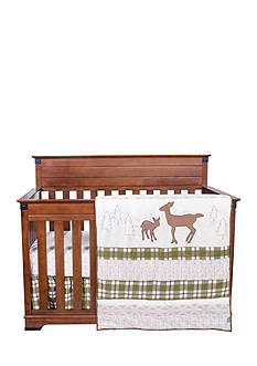 Trend Lab Deer Lodge 3 Piece Crib Bedding Set