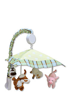 Trend Lab Baby Barnyard Musical Crib Mobile - Online Only