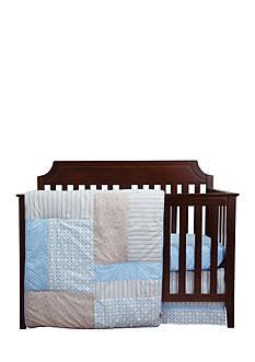 Trend Lab Logan 3-Piece Crib Bedding Set