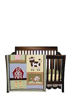 Trend Lab Baby Barnyard 3 Piece Crib Bedding Set - Online Only