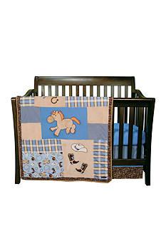 Trend Lab Cowboy Baby 3-Piece Crib Bedding Set