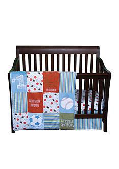 Trend Lab Little MVP 3-Piece Crib Bedding Set