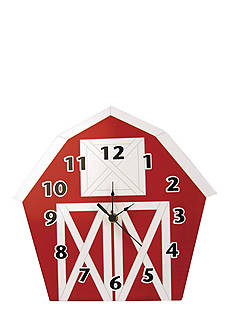 Trend Lab Baby Barnyard Barn Wall Clock - Online Only