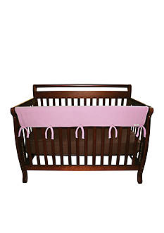Trend Lab Pink CribWrap Wide Rail Cover - Long
