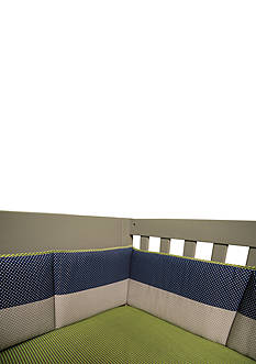 Trend Lab Perfectly Preppy Crib Bumpers