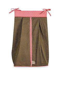 Trend Lab Cocoa Coral Diaper Stacker - Online Only