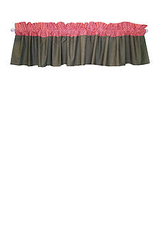 Trend Lab Cocoa Coral Window Valance - Online Only