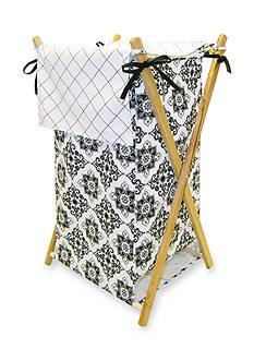 Trend Lab Versailles Black and White Hamper Set