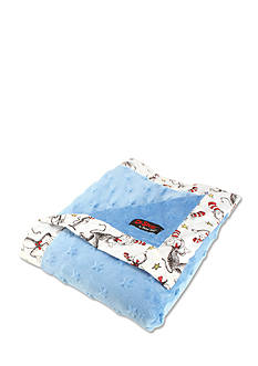 Trend Lab Dr. Seuss™ The Cat in the Hat Blue Receiving Blanket