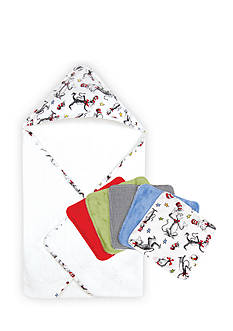 Trend Lab Dr. Seuss™ The Cat in the Hat Hooded Towel and 5 Pack Wash Cloth Set