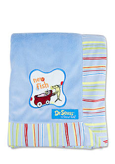 Trend Lab Dr. Seuss™ One Fish, Two Fish Framed Receiving Blanket