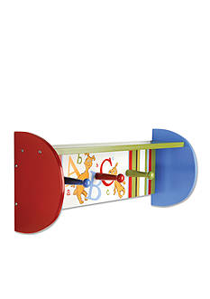 Trend Lab Dr. Seuss ABC Wall Shelf with Pegs